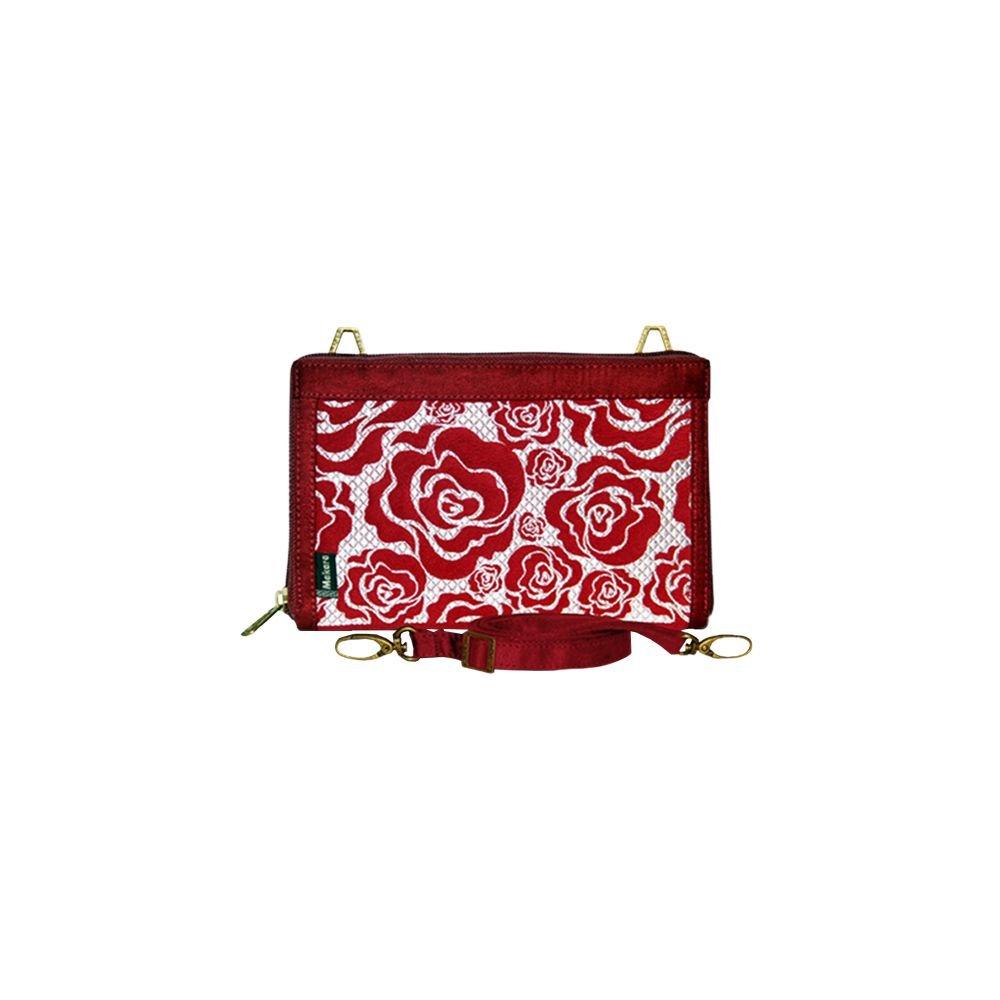 Makara Etnik Produsen Tas Dompet Wanita Indonesia Flat Midili Art Roses