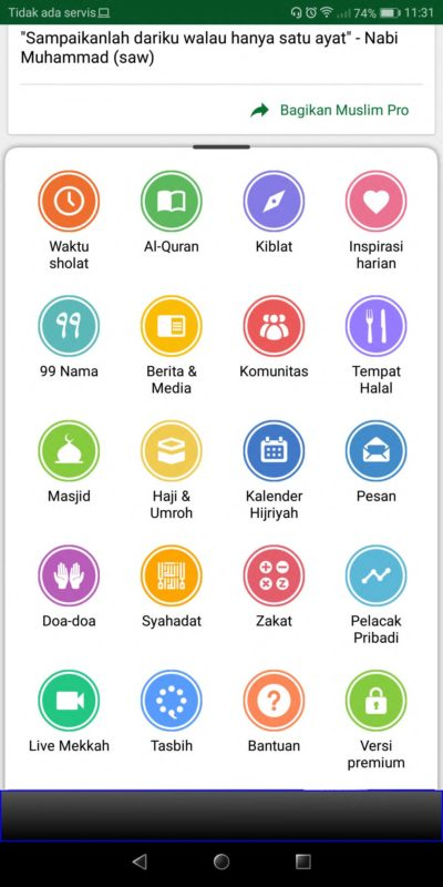 Makara Etnik Produsen Tas Dompet Wanita Indonesia Aplikasi di Bulan Ramadhan Muslim Pro (2)